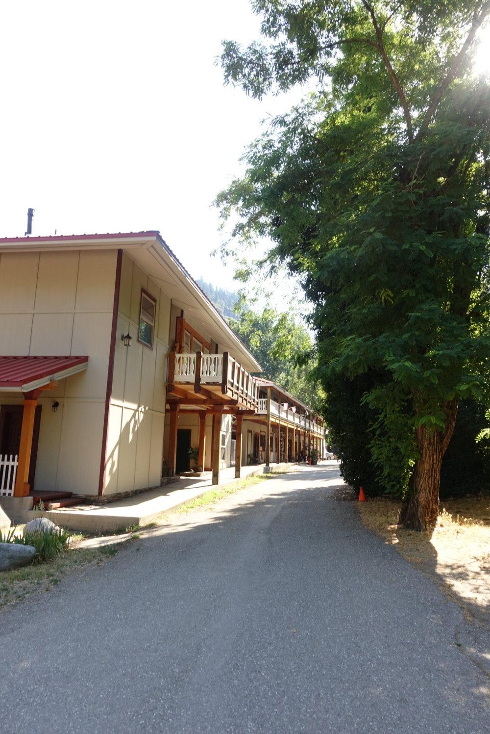 Belden town resort.