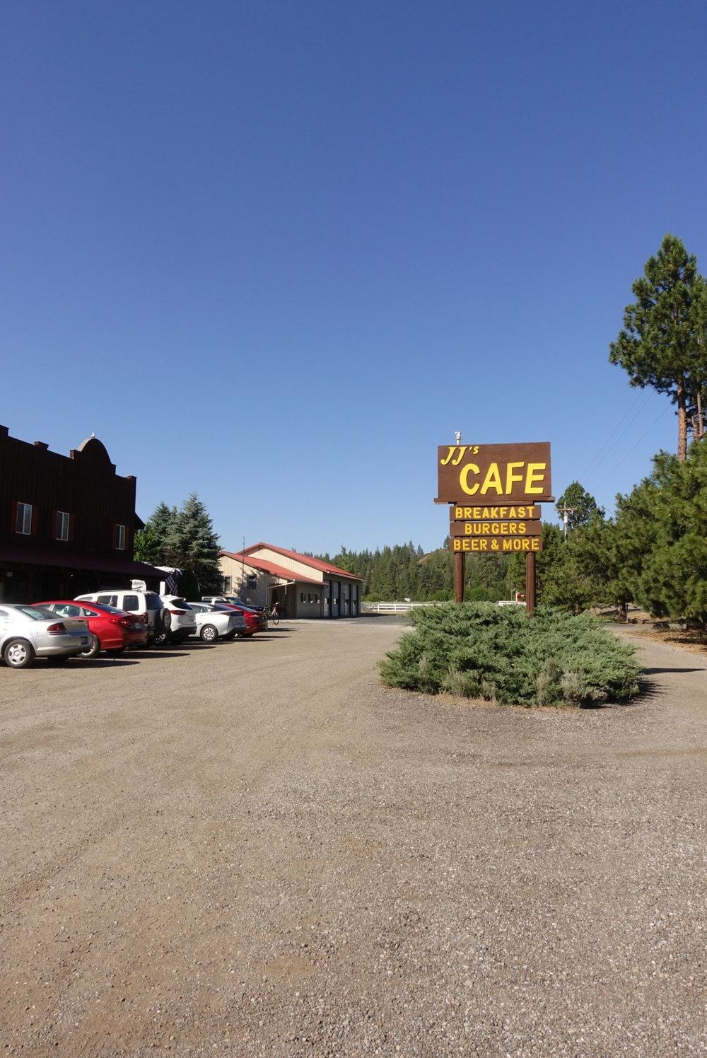 JJ's Cafe in Old Station.