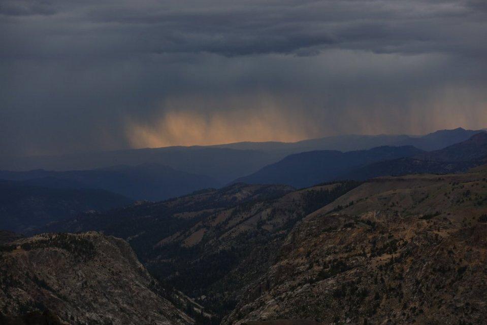 Incoming thunder.