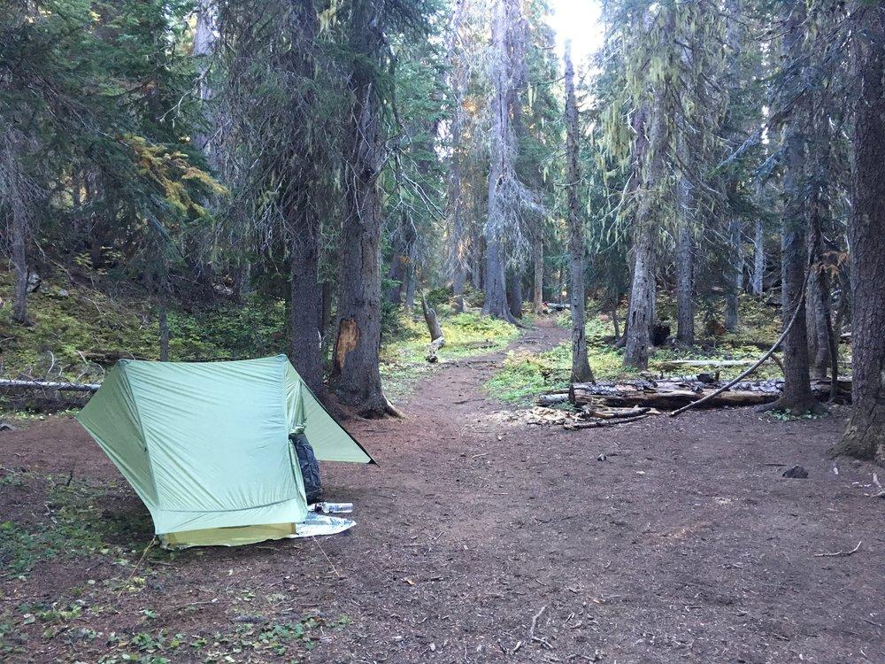 The last campsite