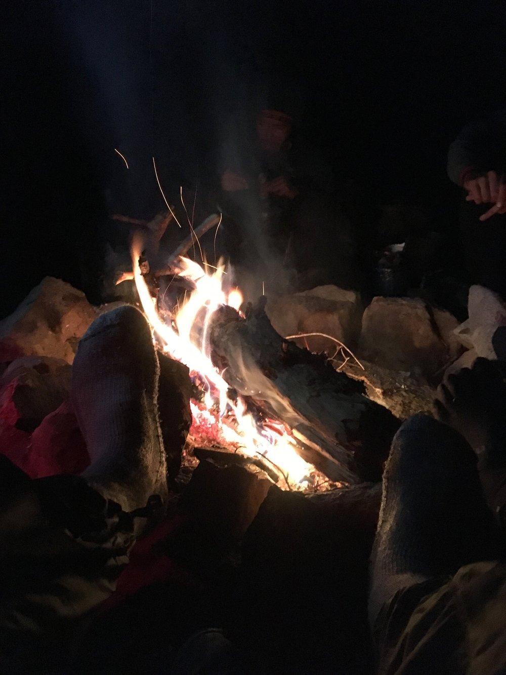 Campfire quizzes